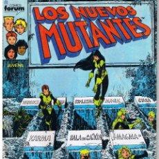 Comics: LOS NUEVOS MUTANTES. NUMERO 38. FORUM. Lote 42473929