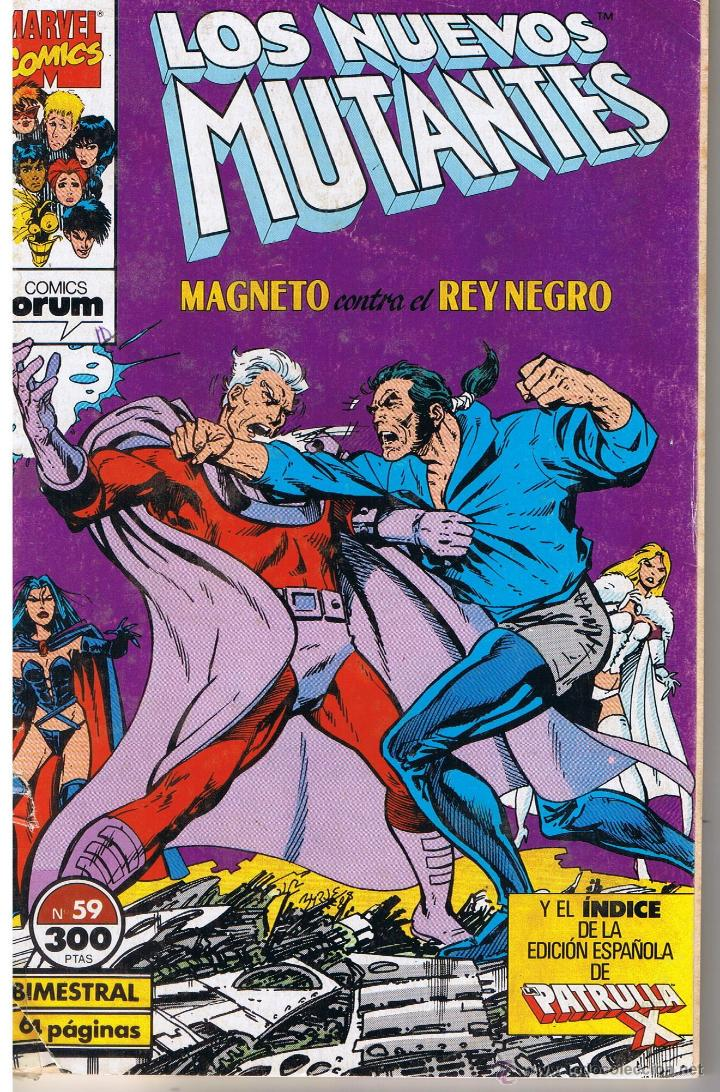 LOS NUEVOS MUTANTES. NUMERO 59. FORUM (Tebeos y Comics - Forum - Nuevos Mutantes)