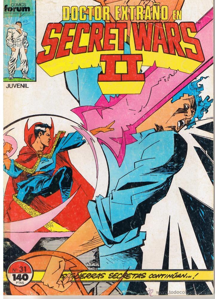 SECRET WARS II. NUMERO 31. FORUM (Tebeos y Comics - Forum - Otros Forum)