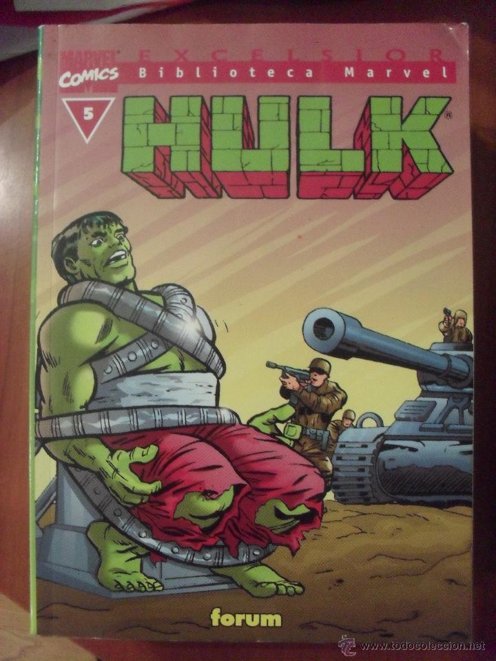 HULK, NUMERO 5, BIBLIOTECA MARVEL, (Tebeos y Comics - Forum - Hulk)