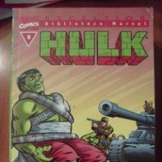 Cómics: HULK, NUMERO 5, BIBLIOTECA MARVEL,. Lote 42491107