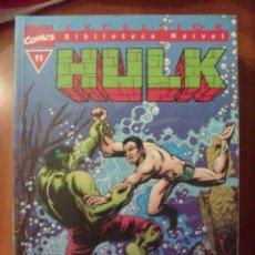 Cómics: HULK, NUMERO 11, BIBLIOTECA MARVEL,. Lote 42491114