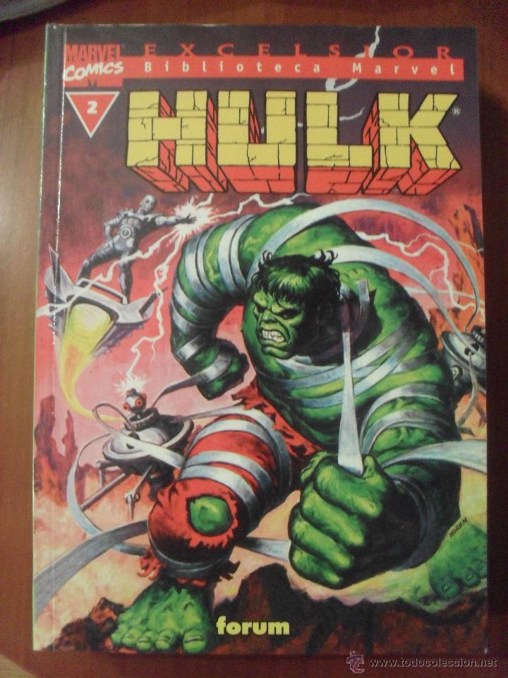 HULK, NUMERO 2, BIBLIOTECA MARVEL, (Tebeos y Comics - Forum - Hulk)