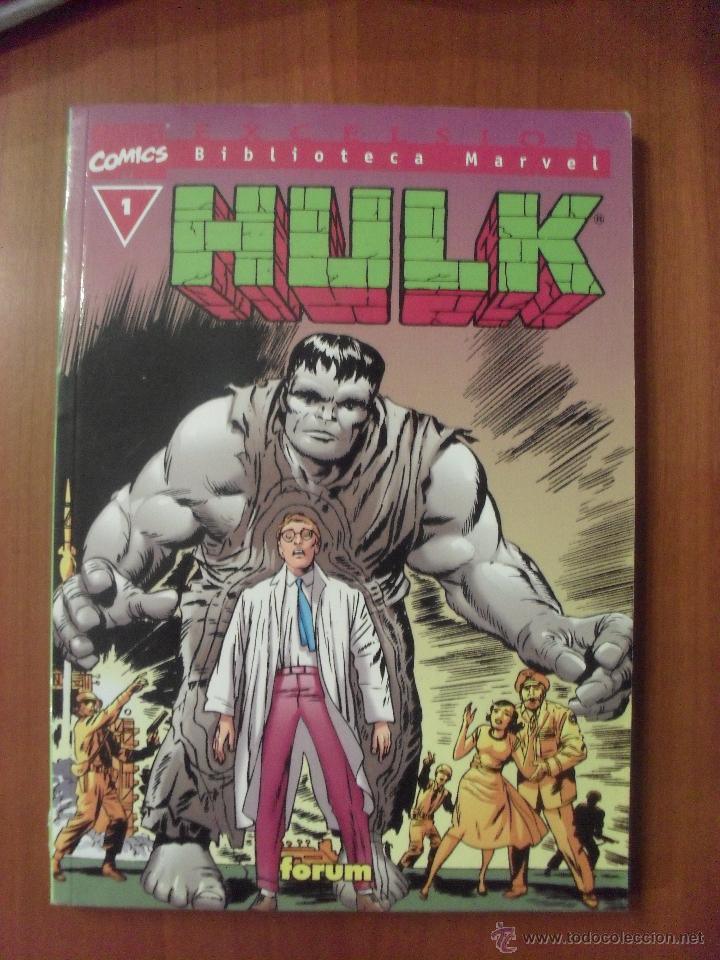 HULK, NUMERO 1, BIBLIOTECA MARVEL, (Tebeos y Comics - Forum - Hulk)