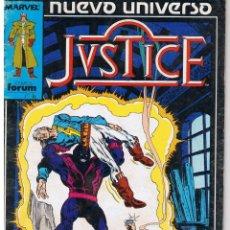 Cómics: JUSTICE. NUMERO 10. FORUM. Lote 42495231