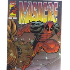 Cómics: MASACRE Nº 1 FORUM - CJ17. Lote 42511793