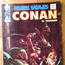 Cómics: CONAN EL BARBARO RELATOS SALVAJES MUNDI COMICS VOL. 1 NUMERO 40 COMO NUEVO. Lote 47238932
