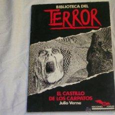 Cómics: EL CASTILLO DE LOS CARPATOS ( EDICIONES FORUM ) - ( JULIO VERNE ). Lote 42578579