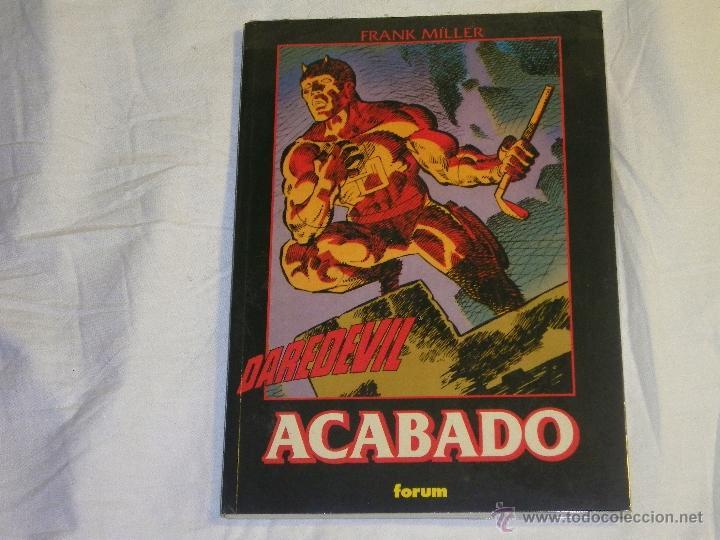 DAREDEVIL - ACABADO - ( FORUM ) - ( FRANK MILLER ) - ¡¡FORRADO!! (Tebeos y Comics - Forum - Prestiges y Tomos)