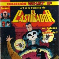 Comics : WHAT IF EL CASTIGADOR Nº 18 FORUM - CJ80. Lote 42594423