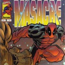Cómics: MASACRE Nº 1 FORUM - CJ80. Lote 42596927