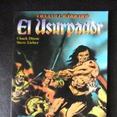 Cómics: CONAN EL BARBARO EL URSUPADOR NOVELA GRAFICA. Lote 42617985
