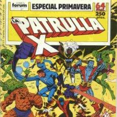Comics: PATRULLA-X: ESPECIAL PRIMAVERA 1989. Lote 42638688