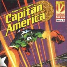 Cómics: CAPITAN AMERICA VOLUMEN 3 NÚMERO 6. Lote 42652940