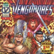 Cómics: HEROES REBORN: LOS VENGADORES VOLUMEN 1 NÚMERO 1. Lote 42656244