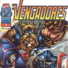 Cómics: HEROES REBORN: LOS VENGADORES VOLUMEN 1 NÚMERO 2. Lote 42656265