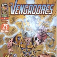 Cómics: HEROES REBORN: LOS VENGADORES VOLUMEN 1 NÚMERO 9. Lote 42656283