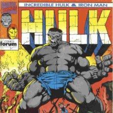 Cómics: HULK/IRONMAN VOLUMEN 1 NÚMERO 1. Lote 42656466