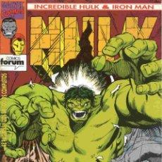 Cómics: HULK/IRONMAN VOLUMEN 1 NÚMERO 4. Lote 42656503