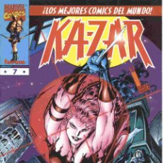 Cómics: KAZAR VOLUMEN 1 NÚMERO 7. Lote 42656784