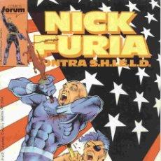 Cómics: NICK FURIA: CONTRA S.H.I.E.L.D. VOLUMEN 1 NÚMERO 9. Lote 42657719
