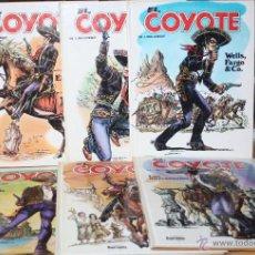 Cómics: EL COYOTE : TOMOS (TAPA DURA) Nº1,2,3,4,5 Y 6 . Lote 42659757