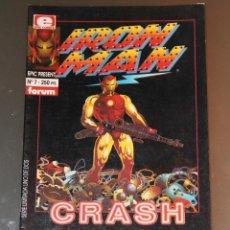 Cómics: IRON MAN CRASH 1 EPIC COMICS. Lote 42688098