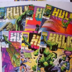 Cómics: HULK VOL 4 - LOTE NºS 1 AL 6 (1, 2, 3, 4, 5, 6) DE 12 - 6 NÚMEROS - FORUM (MARVEL). Lote 206339208