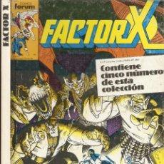 Cómics: FORUM - FACTOR X RETAPADO Nº 36 AL 40 BUEN ESTADO. Lote 42746760