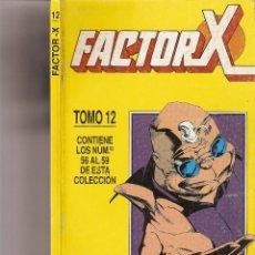 Cómics: FORUM - FACTOR X RETAPADO TOMO 12 Nº 56 AL 59 - MUY BUEN ESTADO. Lote 42746899