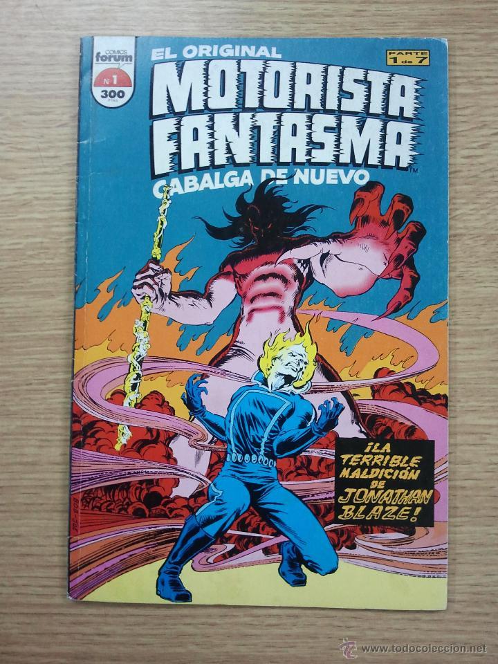 EL ORIGINAL MOTORISTA FANTASMA CABALGA DE NUEVO #1 (Tebeos y Comics - Forum - Otros Forum)