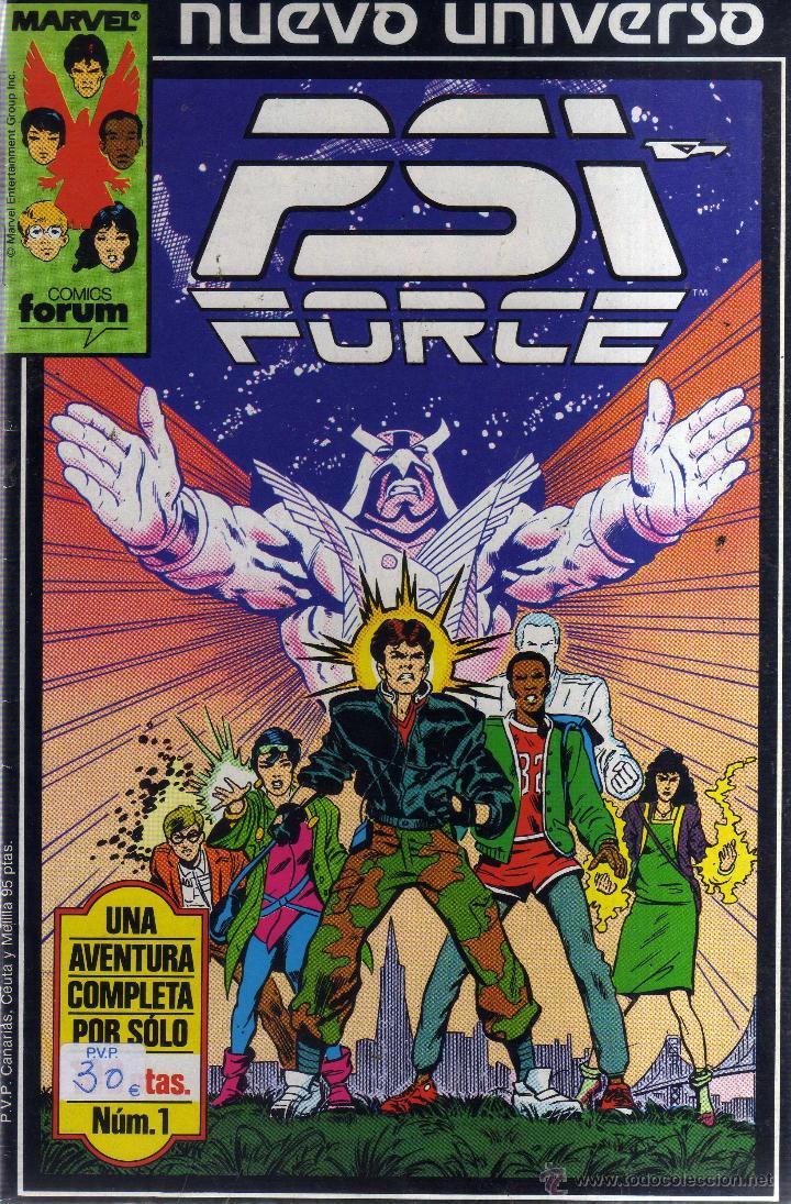 PSI FORCE COMPLETA 12 NÚMEROS - CJ87 (Tebeos y Comics - Forum - Otros Forum)