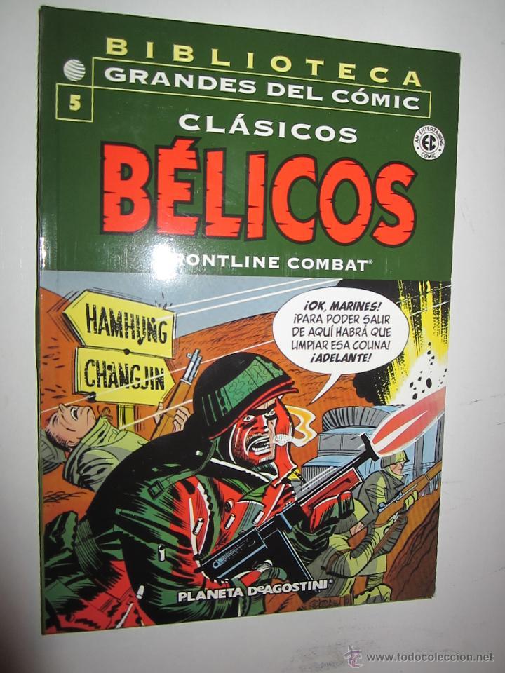 BIBLIOTECA GRANDES DEL COMIC CLASICOS BELICOS Nº 5 (Tebeos y Comics - Forum - Otros Forum)