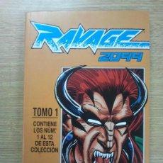 Comics: RAVAGE 2099 COLECCION COMPLETA (RETAPADO 1 A 12) . TOMO FORUM.. Lote 56628705