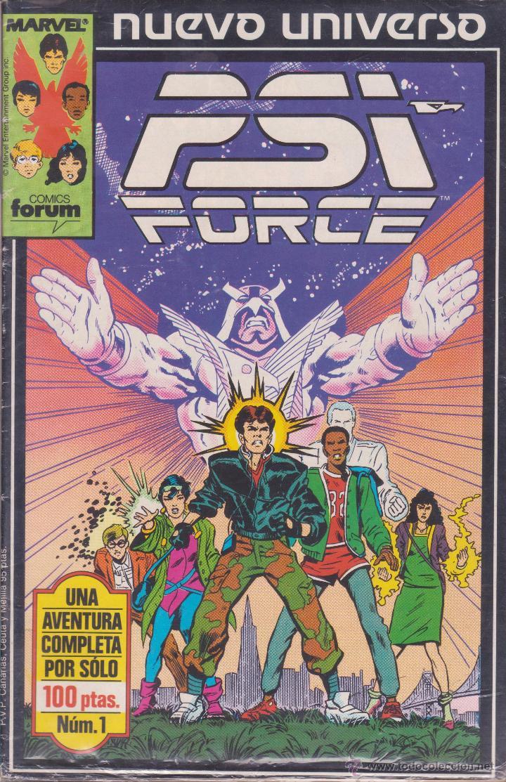 PSI FORCE -- COLECCIÓN COMPLETA -- 12 COMICS (Tebeos y Comics - Forum - Otros Forum)