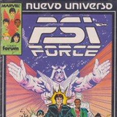 Cómics: PSI FORCE -- COLECCIÓN COMPLETA -- 12 COMICS. Lote 42857955