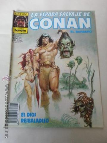 LA ESPADA SALVAJE DE CONAN Nº101- 1 EDICION FORUM (Tebeos y Comics - Forum - Conan)