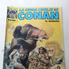 Cómics: LA ESPADA SALVAJE DE CONAN Nº104- 1 EDICION FORUM. Lote 201228400
