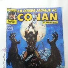 Cómics: LA ESPADA SALVAJE DE CONAN Nº109- 1 EDICION FORUM. Lote 42908697