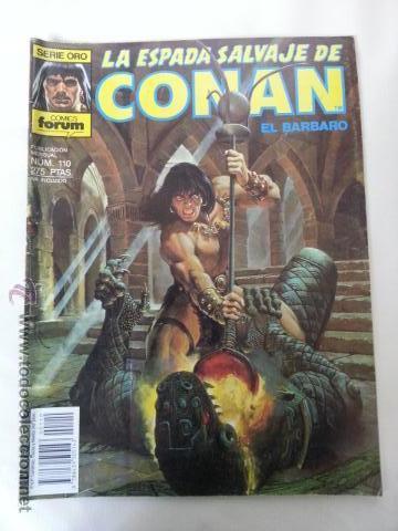LA ESPADA SALVAJE DE CONAN Nº110- 1 EDICION FORUM (Tebeos y Comics - Forum - Conan)