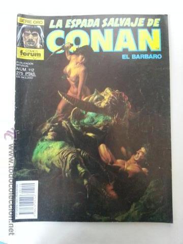 LA ESPADA SALVAJE DE CONAN Nº112- 1 EDICION FORUM (Tebeos y Comics - Forum - Conan)