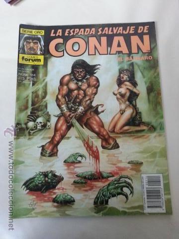 LA ESPADA SALVAJE DE CONAN Nº114- 1 EDICION FORUM (Tebeos y Comics - Forum - Conan)