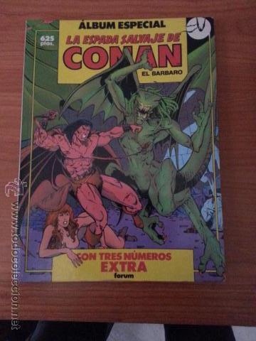 ALBUM ESPECIAL - LA ESPADA SALVAJE DE CONAN -Nº 74,75,76 (Tebeos y Comics - Forum - Conan)