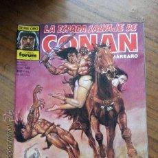 Cómics: LA ESPADA SALVAJE DE CONAN Nº 143 - 1 EDICION FORUM. Lote 42912474