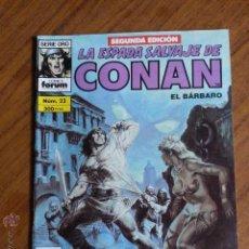 Cómics: LA ESPADA SALVAJE DE CONAN Nº 23 - 2 EDICION FORUM. Lote 42917375