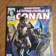 Cómics: LA ESPADA SALVAJE DE CONAN Nº 24 - 2 EDICION FORUM. Lote 42917391