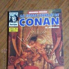 Cómics: LA ESPADA SALVAJE DE CONAN Nº 25 - 2 EDICION FORUM. Lote 42917473