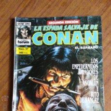 Cómics: LA ESPADA SALVAJE DE CONAN Nº 27 - 2 EDICION FORUM. Lote 42917483