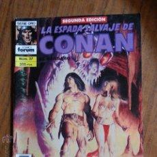 Cómics: LA ESPADA SALVAJE DE CONAN Nº 37 - 2 EDICION FORUM. Lote 42917708