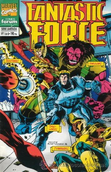 FANTASTIC FORCE LOTE DE 4 NUMEROS 1-3-4-6 (Tebeos y Comics - Forum - Otros Forum)